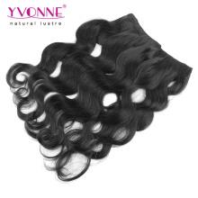100% человеческих волос Бразильский флип в наращивание волос