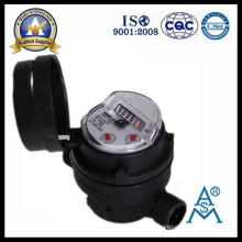 Medidor de agua plástico de tipo RRD solo Jet