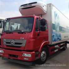 Camión de carga refrigerada Sino 4X2 Van