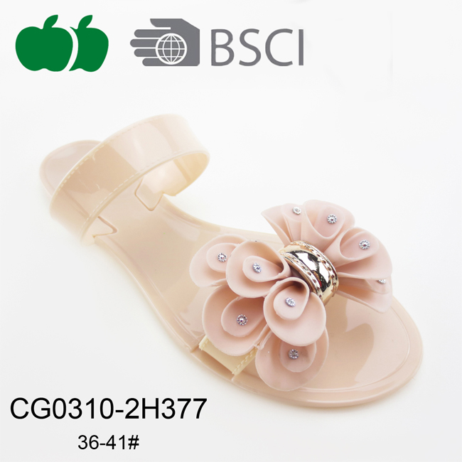 cheap women pvc slippers