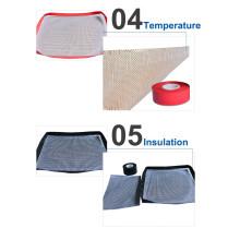 alfombrilla de cocina antiadherente reutilizable de la barbacoa del Bbq de la resistencia térmica