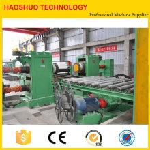 Linha de corte hidráulico automático PLC