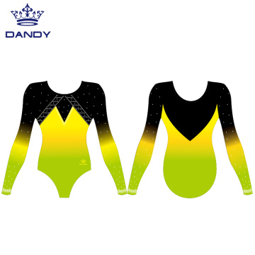 Hot Selling Dance Rhythmic Gymnastics Leotards