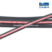 High Temperature Comminution Machine Wire Reinforced Hydraulic Hoses