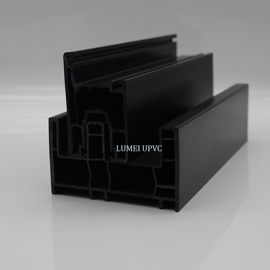 88mm black frame profiles