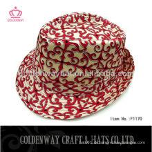 2013 Neueste Damen Baumwoll Fedora Hut schön für Frauen klassisch
