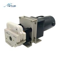 Перистальтический дозирующий насос с многоканальным двигателем постоянного тока
