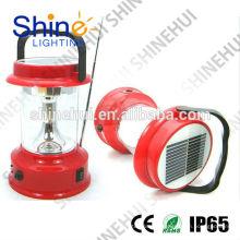 Precio de fábrica linterna solar llevada, cargador solar de la radio de la linterna, lámpara solar con la radio del fm