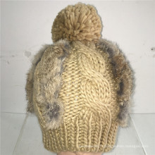 (LKN15034) Chapeau promotionnel en tricot d'hiver