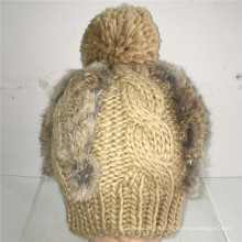 (LKN15034) Chapéu de malha promocional de inverno
