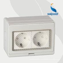 230V однофазный источник питания 3-контактный разъем питания переменного тока