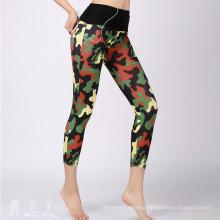 Custom Women Sportswear Compression Contour Line Sport Leggings