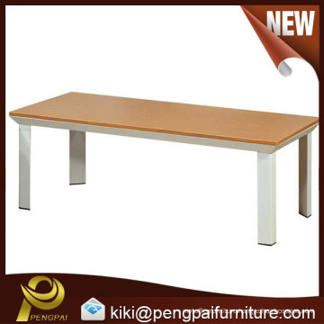 Durable long MDF coffee table for office