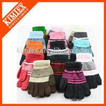Зимние акриловые перчатки