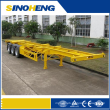 20ft 40ft Best Quality Frame Container Semi Trailer