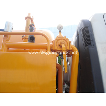 Good quality mobile sewage suction vehicle