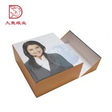 Caixa de papelão criativo personalizado direto do logotipo da fábrica da caixa da imagem