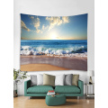 Tapestry Wall Hanging Ocean Sea Wave Beach Series Tapestry Blue Tapestry do sypialni Home Dorm Decor