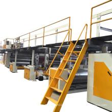WJ180-2200 Steam Heating 5 Layer Corrugated Cardboard Production Line