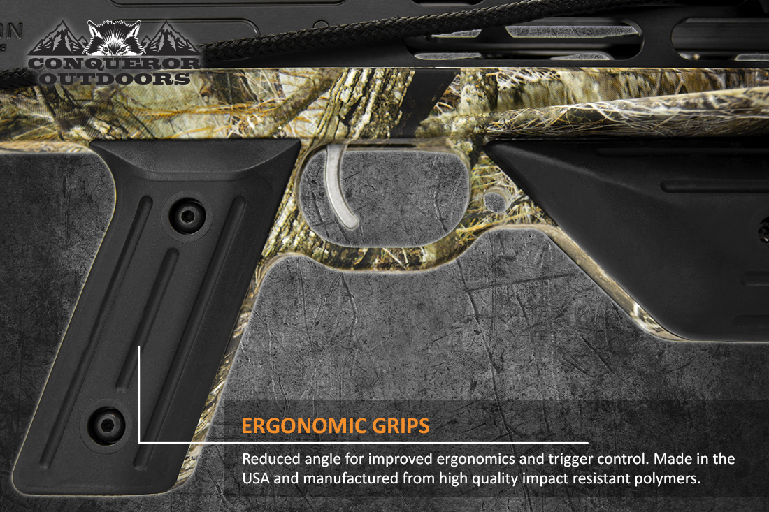 Mission Crossbow Charge Grip Detail with Text