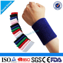 Factory Promotion Gift Cotton Sport Sweat Wristband
