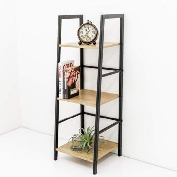 Populaire sur Amazon Black Metal Desktop Bookshelf Bookcase