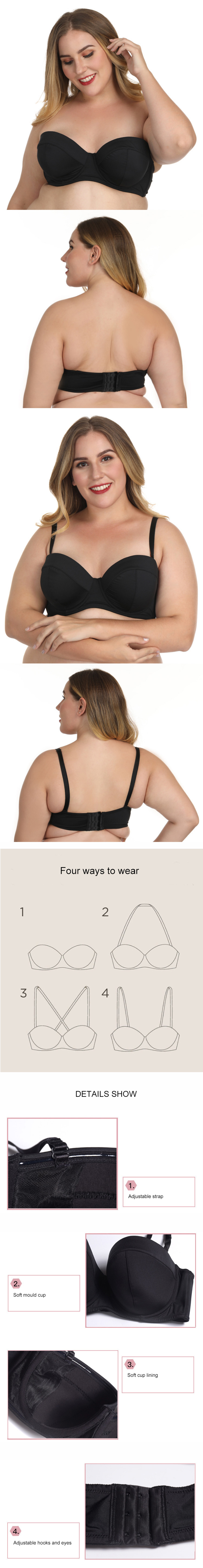 bras for larger bust