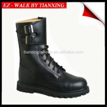 Военные сапоги черная кожа и резиновая подошва