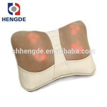 Massager de vibração da função do aquecimento mini para trás, Massager traseiro da massagem do auto