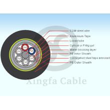 Câble de fibre optique GYTA53 (GYSTA53 / GYTA53)