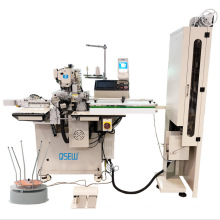 QS-436-AT Electronic fully automatic auto cut auto feed direct drive elastic jointing industrial sewing machine
