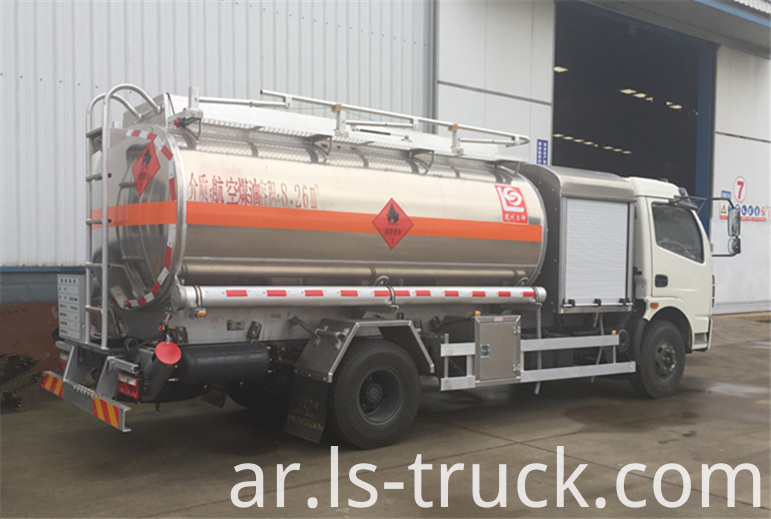 jet fuel transport truck