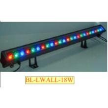 1X18W 1 Mètre long en aluminium alliage LED Wall Washer