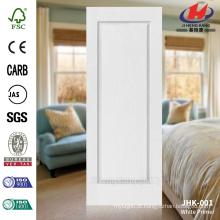 JHK-001 Hot Sale Preço baixo superfície lisa Lowes White Primer pele Door Fabricação