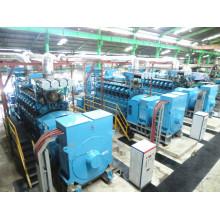 100MW Level Diesel Gas Heavy Fuel Power Generating Plant