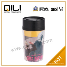 taza de coche de viaje   taza de café personalizada plástico