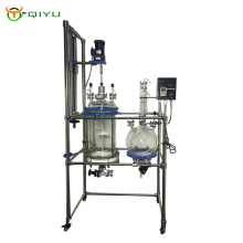 30L 50L 100L  hand lift  Filter Polypeptide Reactor With Double Layer