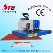 Hot Sales Swing Away T-Shirt Heat Transfer Machine 40*60cm American High Pressure Shaking Head Heat Press Machine T Shirt Transfer Printing Machine Stc-SD03