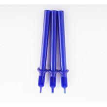 2014 profissional novo plástico azul descartáveis tatuagem dicas (HB7-3-1)
