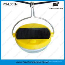 Lampe solaire flexible de sonde de mouvement d'utilisation avec la batterie 500mAh