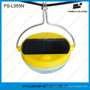 Lámpara de sensor de movimiento solar de uso flexible con batería de 500 mAh