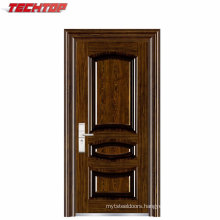 TPS-130 Fashionable Heat-Transfer Printing Steel Security Door with Good Price