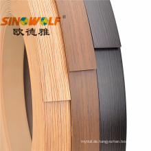 PVC-Kantenstreifen für MDF-Platten 0,35-3,0 mm