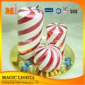 6 Inch Multi-colored Pillar Art Candle