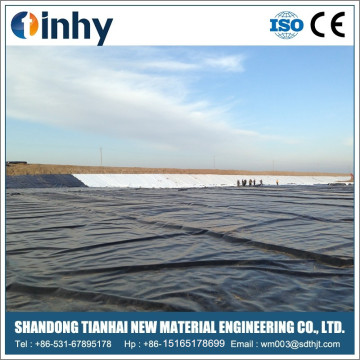 40 / 60mils Impermeable HDPE Pond Liner for Reservoir