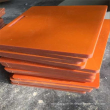 Ausrüstungskomponente Harte Schwarz/Orange Bakelitplatte