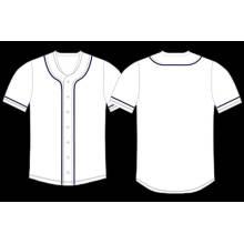 Wholesale Blank White Softball / Baseball Jersey for Ballgame for Sale