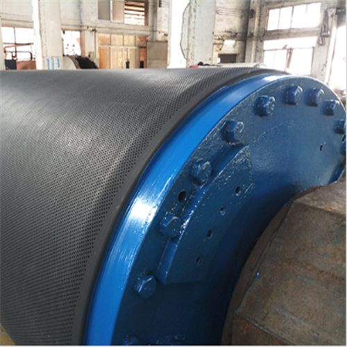 Blind Drilled Press Rubber Roll 04