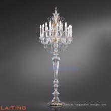 Elegante lámpara de pie Baccarat para eventos de bodas 20070