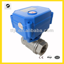 """Full flow SS304 1/2"""" electric motor control valve with NSF61 certification for north America drinking water project"""